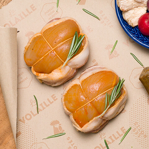 Tournedos poulet miel & ail - Chicoine